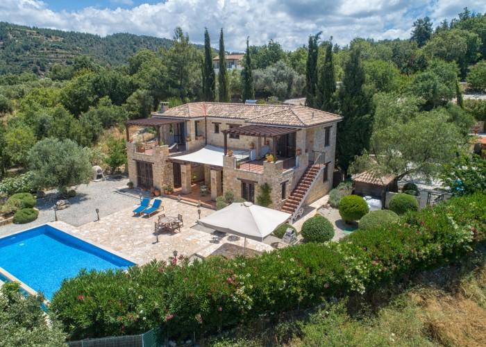 Detached Villa For Sale  in  Lysos