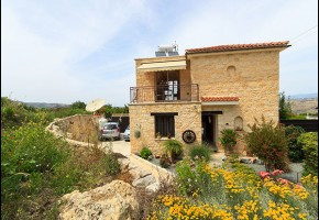 Detached Villa For Sale in Stroumbi, Paphos - 1637